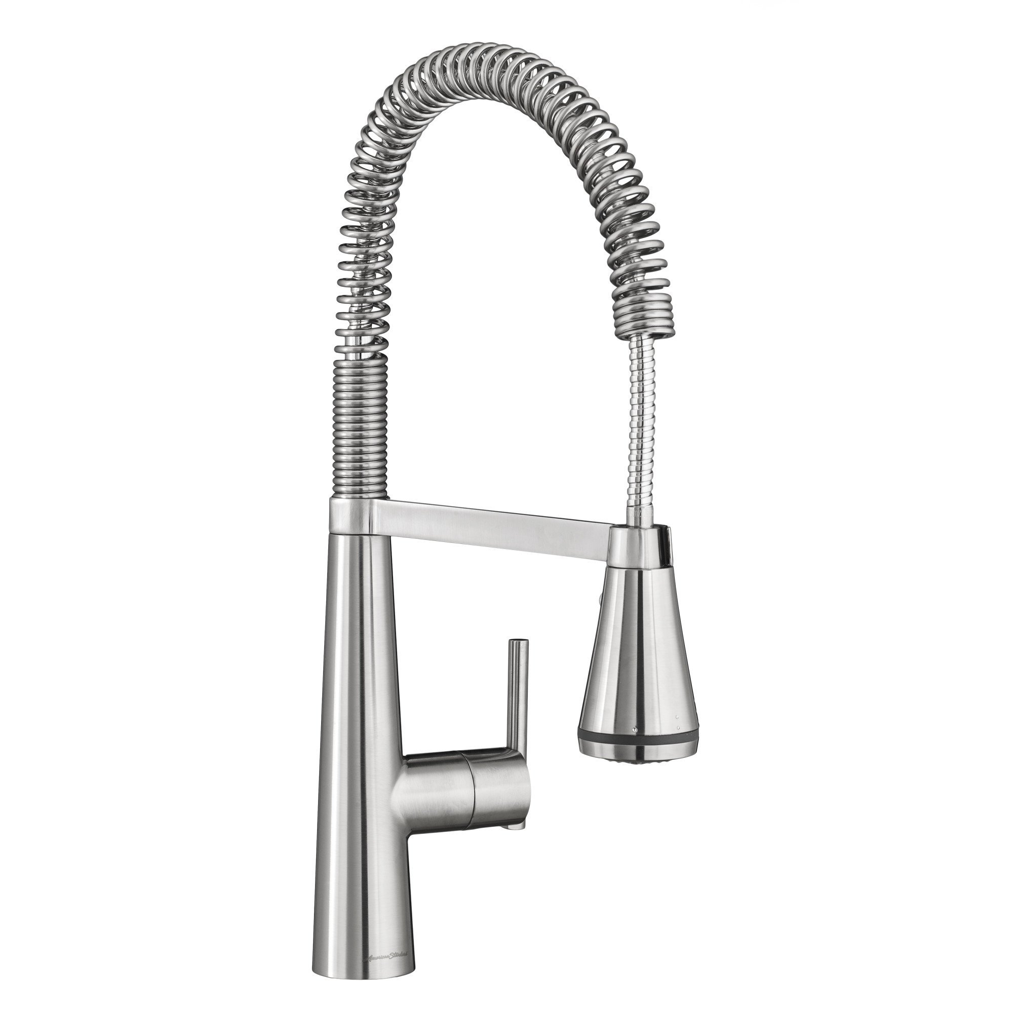 American Standard 4932350.075 Edgewater Semi-Professional Kitchen Faucet with SelectFlo, Stainless Steel