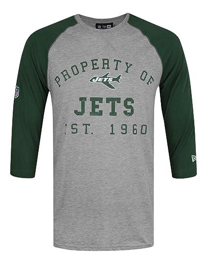 d3ca394d New Era NFL New York Jets Vintage Men's Raglan Top: Amazon.co.uk ...