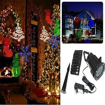 elonn (TM) Festival de Navidad decoración, 10 reemplazable Patrón ...