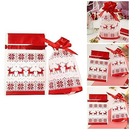 Luckybaby Paquete de 50 Galletas Autoadhesivas de Navidad ...