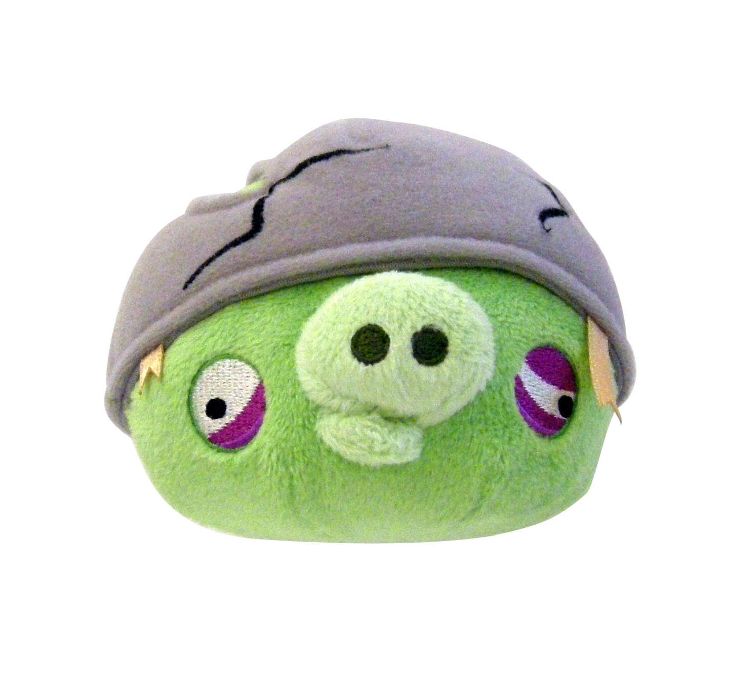 Angry Birds 8'' Plush Helmet Pig with Sound