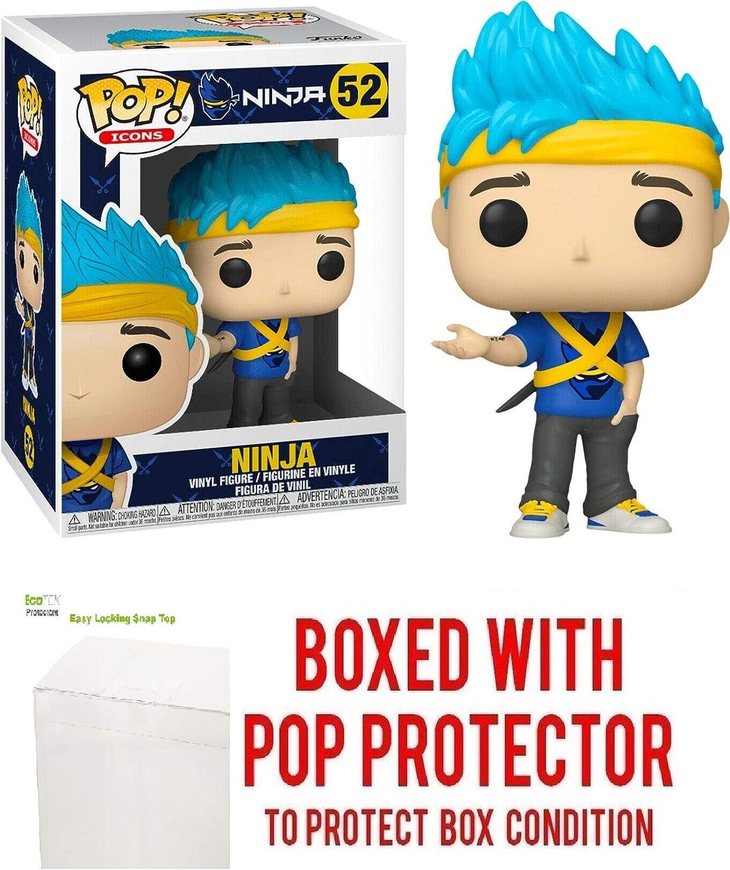 Ninja #52 Pop Vinyl Figure Pop Icons: Culture (Includes Ecotek Pop Box Protector Case)