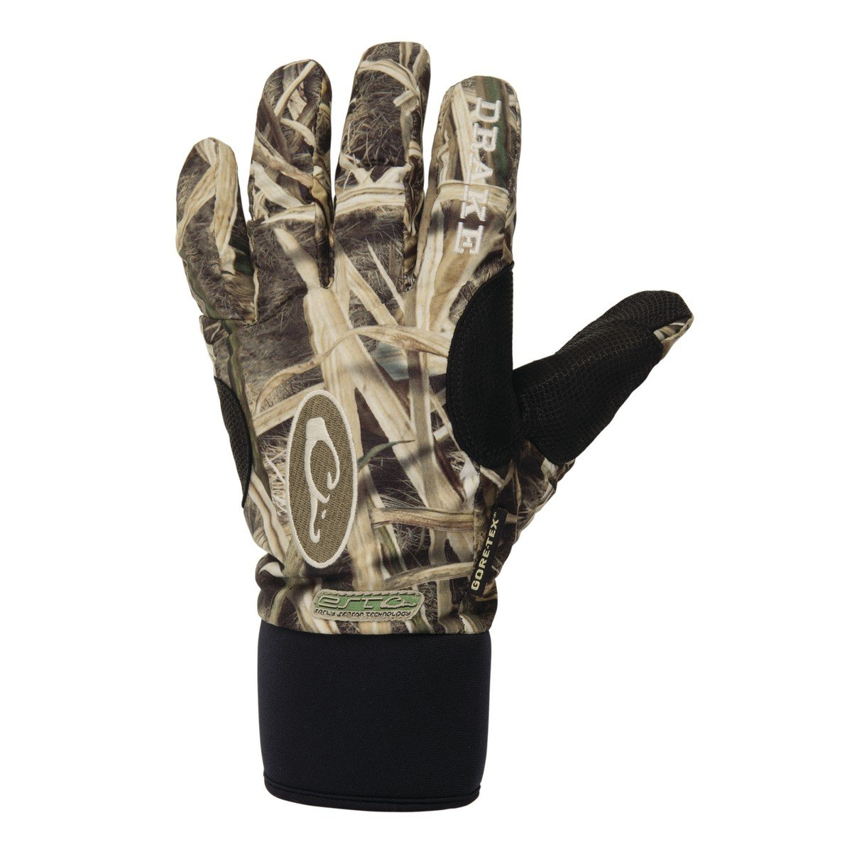 Drake Men's EST Refuge Gore-Tex Glove (MD, Mossy Oak Shadow Grass Blades) by Drake
