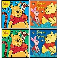 Disney Winnie the Pooh 4er juego de accesorios de baño de lavado de la mancha