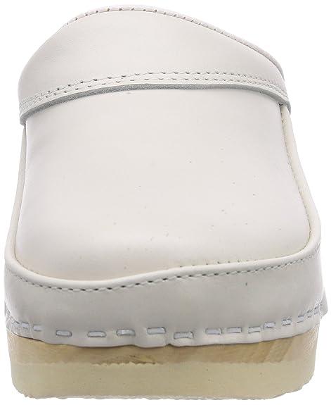 Gevavi 4000 Bighorn Flexibler Clog Weiß 44 - Zuecos Unisex, Color Weiß (Weiss(Wit) 01), Talla 44