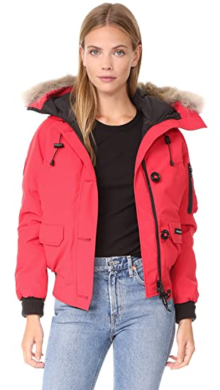 Canada Goose Women's Chilliwack Bomber, Red, XX-Small