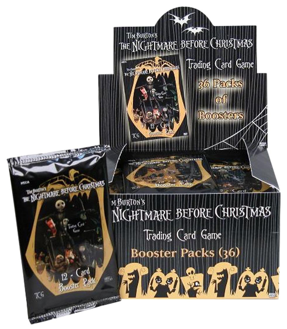 Amazon.com: Neca Nightmare Before Christmas CCG Booster Pack Box, 36 ...