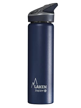 Laken Jannu Botella Térmica Acero Inoxidable 18/8 y Doble Pared de Vacío, Unisex adulto