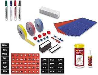 BLUE Pack of 10 Bi-Office 20 mm Round Magnet