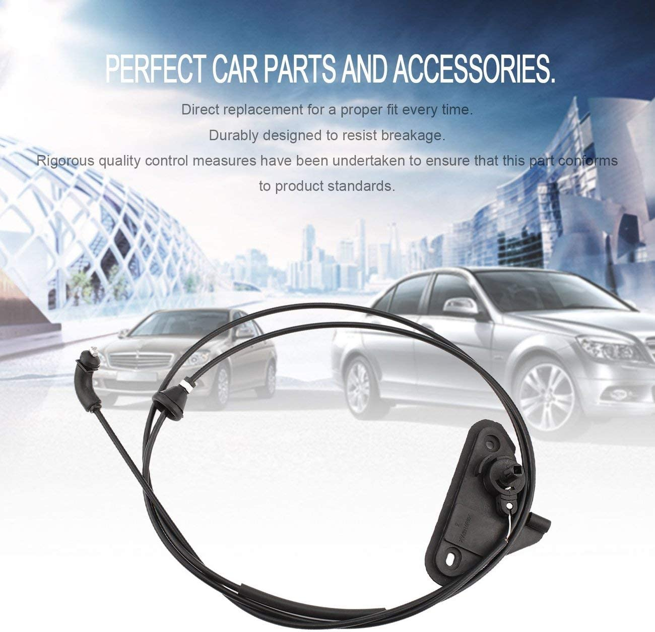 Elviray Professional Cover Cable Kit Bonnet Hood Release Cable for Ford for Mondeo MK4 2007 Neat Car Parts /& Accessories