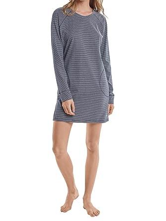 27ec6e17798d35 Marc O'Polo Damen Sleepshirt Nachthemd Langarm - 159841, Größe Damen:XS,