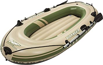 Barca Hinchable Bestway Voyager 300 Para 2 persona 2 remos: Amazon ...