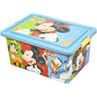 Mickey Mouse- Contenedor 13 litros con Tapa