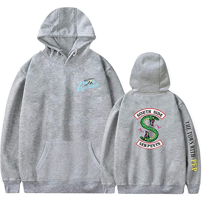 0701b701ecb ZMLIA Riverdale Southside Serpents Unisex Hoodies Hooded Sweatshirt Fleece  Pullover: Amazon.ca: Clothing & Accessories