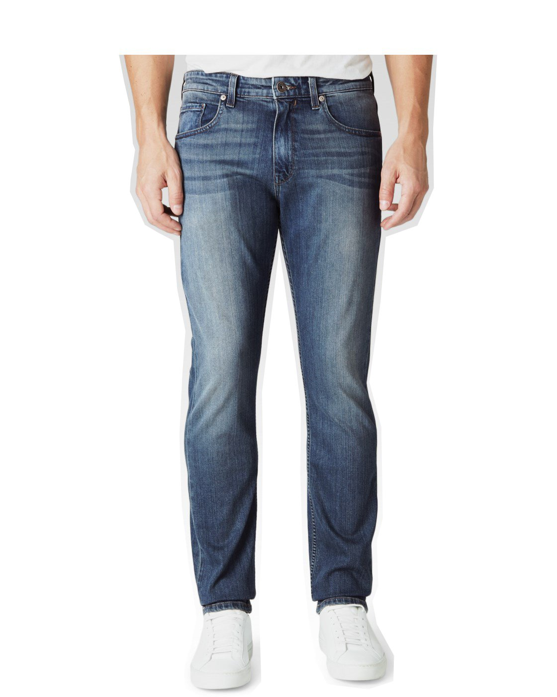 Paige Men's Federal Slim Fit Jeans (32, Beale Wash)