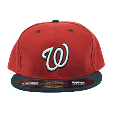 3438e945d39 ... village hats 210094redadj aa645 67ae0  canada new era washington  nationals mlb 59fifty official on field fitted cap red white ne 11364