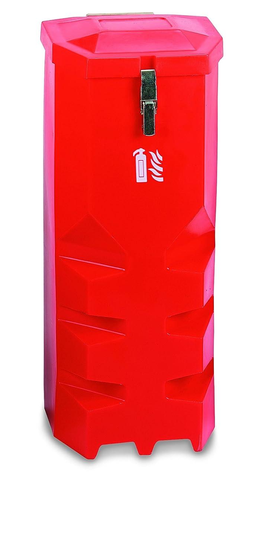 Jonesco Hs75/Extincteur v/éhicule r/écipient chargement par le dessus 9/kg//L rouge