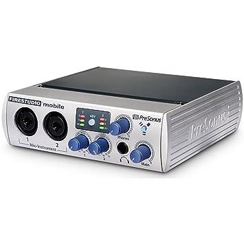 PreSonus FireStudio Mobile - Amplificador de audio (A, 0,008%, 101 ...