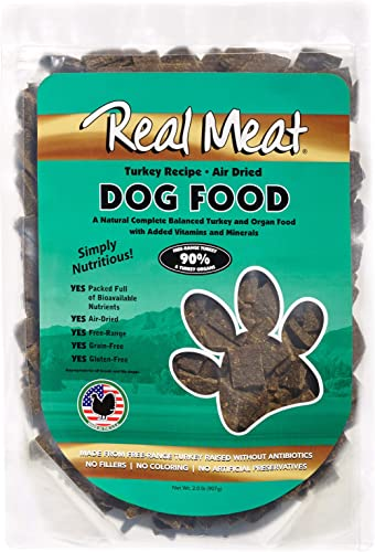 Real Meat Company Air Dried Turkey Dog Food