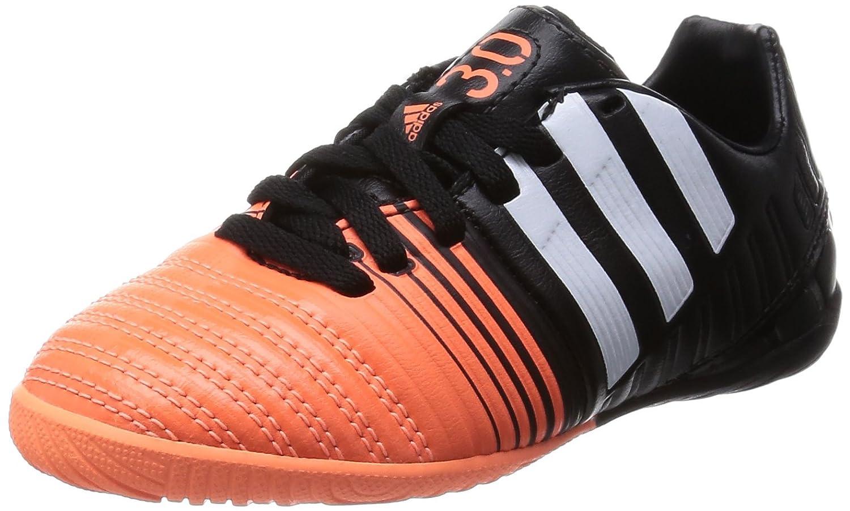 Adidas Fussballschuhe Nitrocharge 3.0 IN J 29 core schwarz ftwr Weiß flash orange s15
