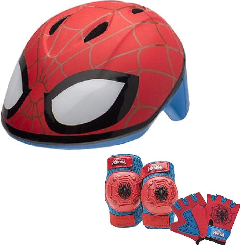 Marvel Spiderman - Juego de 7 Almohadillas y Guantes para Casco de ...