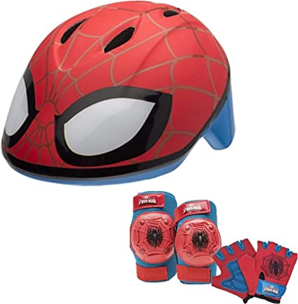 Amazon.com: Marvel Spiderman bebé Skate/Casco de la bici ...