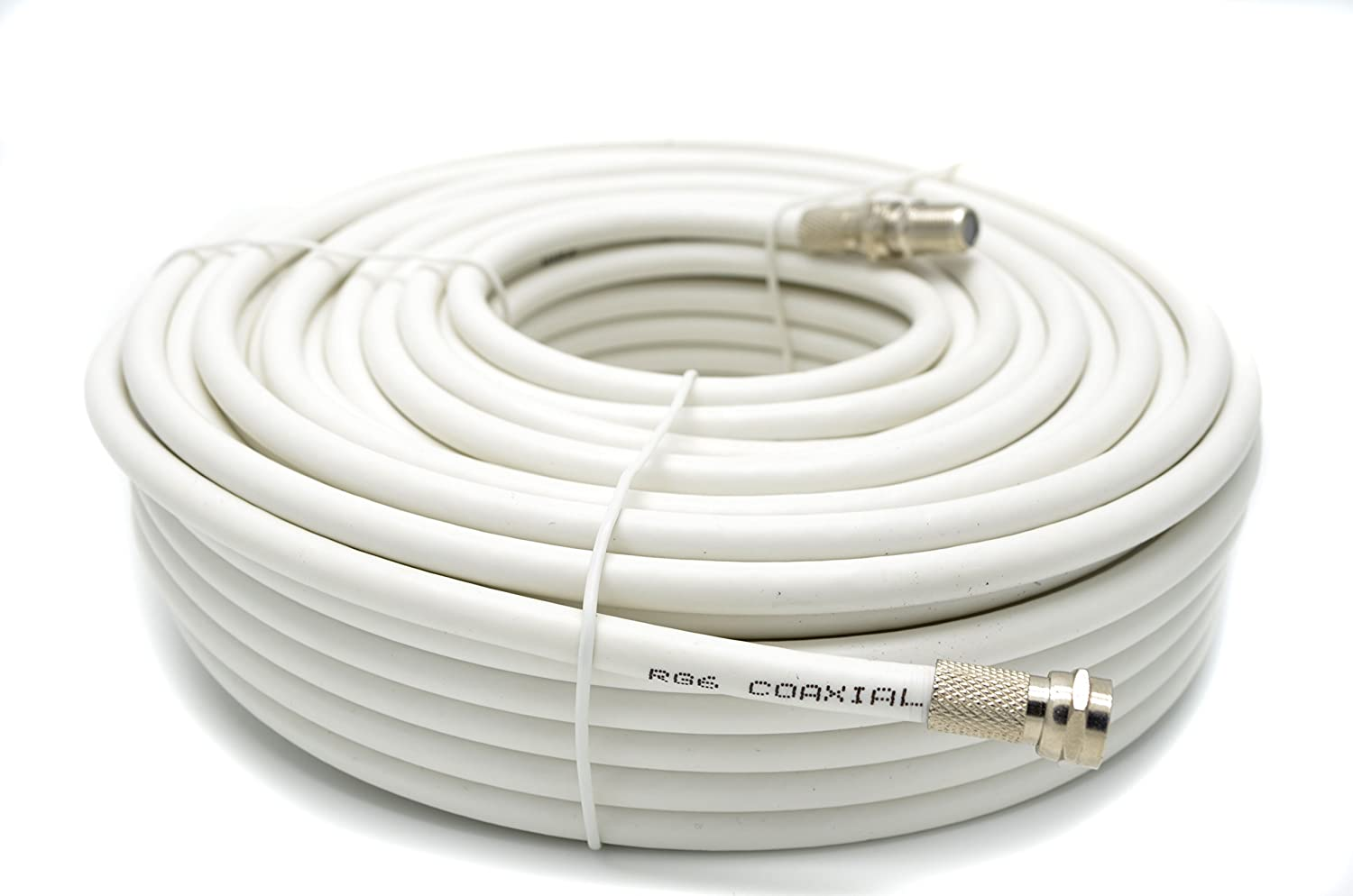 Sky Satellites Kit de cable de extensión coaxial 10 m RG6 TV, con conectores F para Sky HD, Freesat y Virgin – Color blanco: Amazon.es: Electrónica