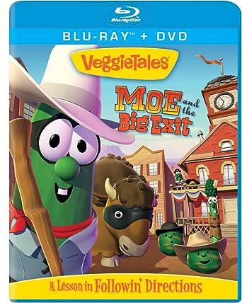 Amazon.com: Veggie Tales: Moe & Big Exit [Blu-ray]: Bob the ...