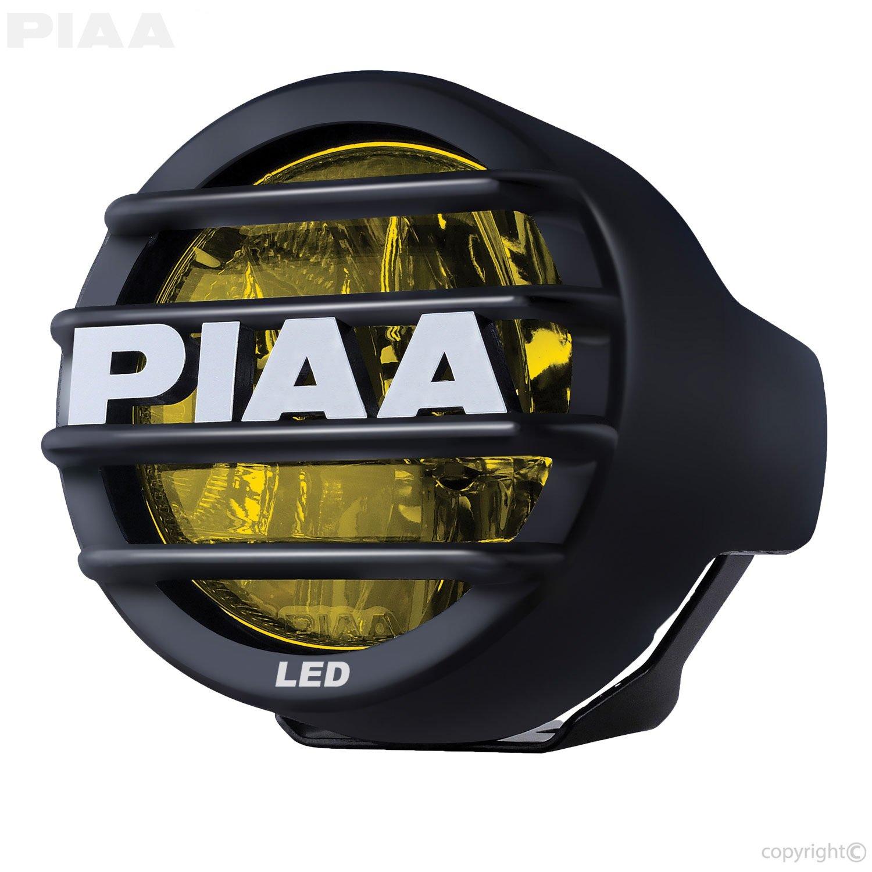 "PIAA 12-05300 LP530 Yellow 3.5"" Single LED Ion Fog Light (SAE Compliant)"