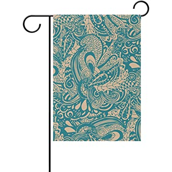 Amazon com : Staroind Abstract Doodle Double-Sided Printed