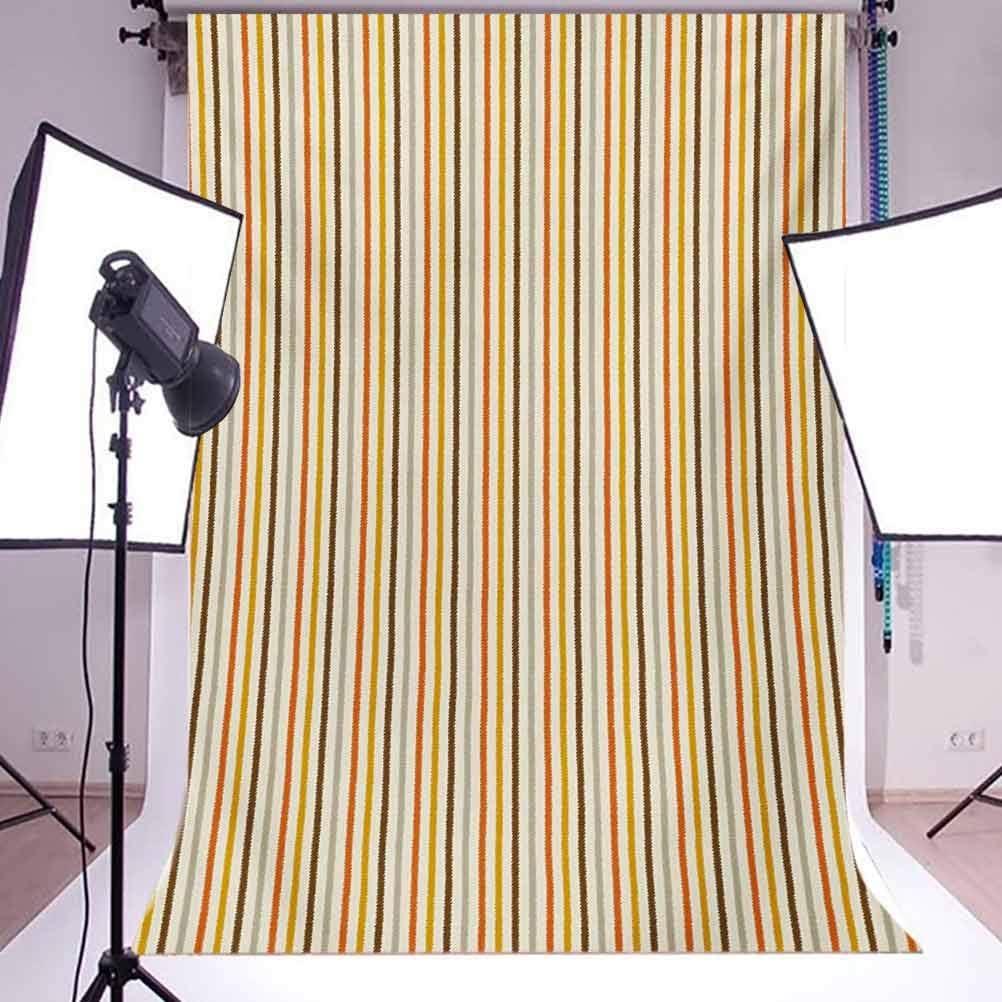 Vintage 10x15 FT Backdrop Photographers,Retro Nostalgic 60s 70s Fashion Stripes Vertical Pattern Vintage Background for Child Baby Shower Photo Vinyl Studio Prop Photobooth Photoshoot
