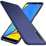 iBetter Samsung Galaxy A7 2018 Funda Fina de Silicona, Samsung Galaxy A7 2018 Funda Suave y Duradera, Funda de TPU. Funda para Smartphone Samsung Galaxy A7 2018. Azul