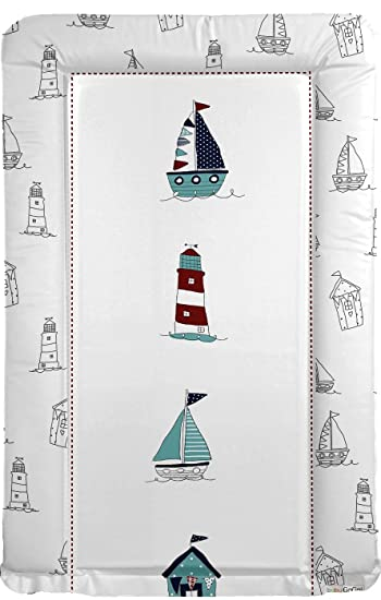 Amazon.com: Sailing Boat Baby Changing Mat - Sailing Boats: Baby