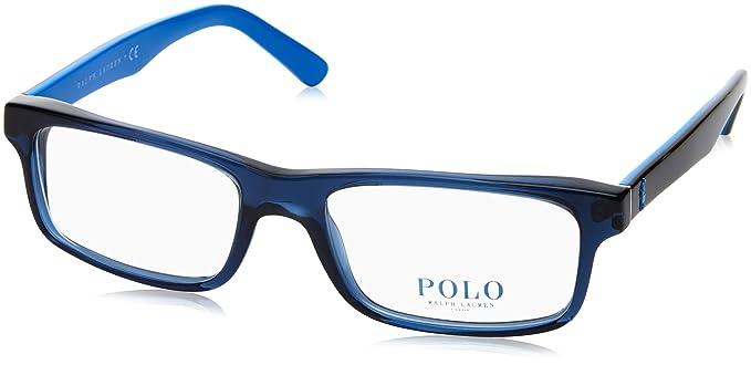 Ralph Lauren Polo 0PH2140, Monturas de Gafas para Hombre, Transparente Blue, 54
