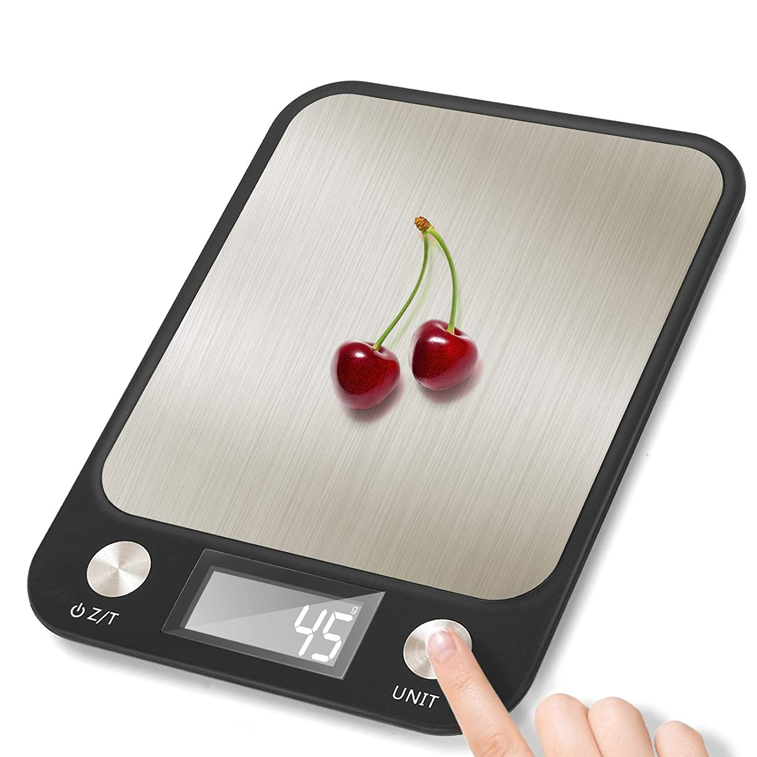 Waterproof Electronic Scale for Food Baking Shipping (0.1g - 10kg) Multifunction Kitchen Scale Small Light Digital Scale for Package Diet Scales Digital Weight