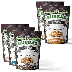 Keto Granola Bundle | Variety Pack with Extra Maple Cinnamon Crunch