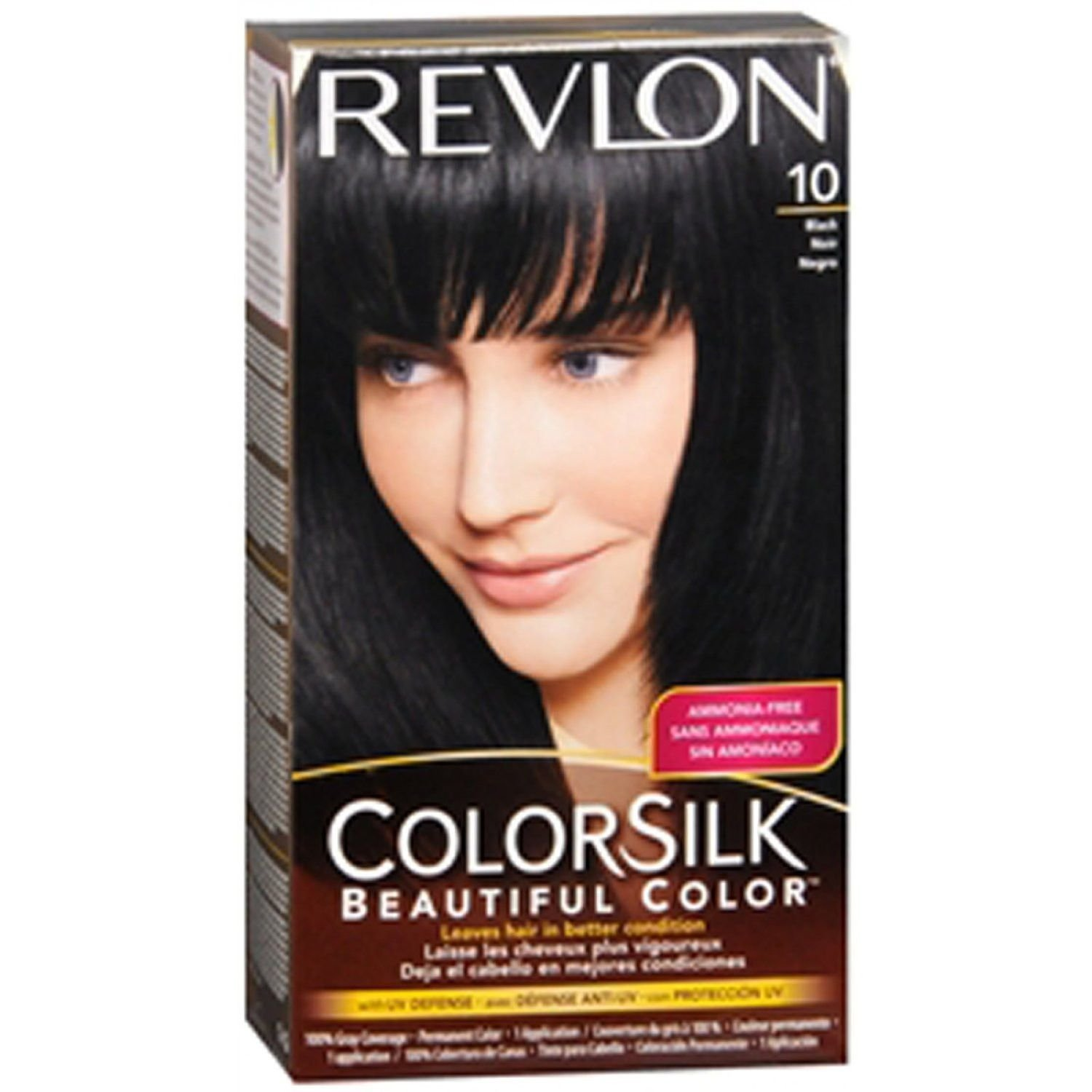 Amazon Revlon Colorsilk Beautiful Color Black Chemical Hair
