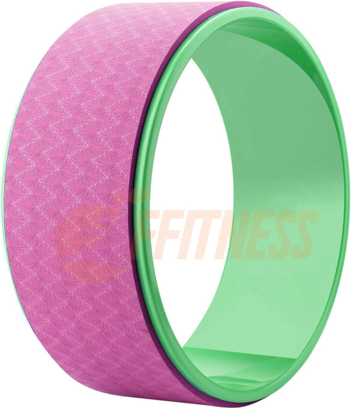 Gimnasia Gimnasio Body Dharma Yoga Wheel Fitness Superficie Antideslizante Anillo para Entrenamiento de Pilates