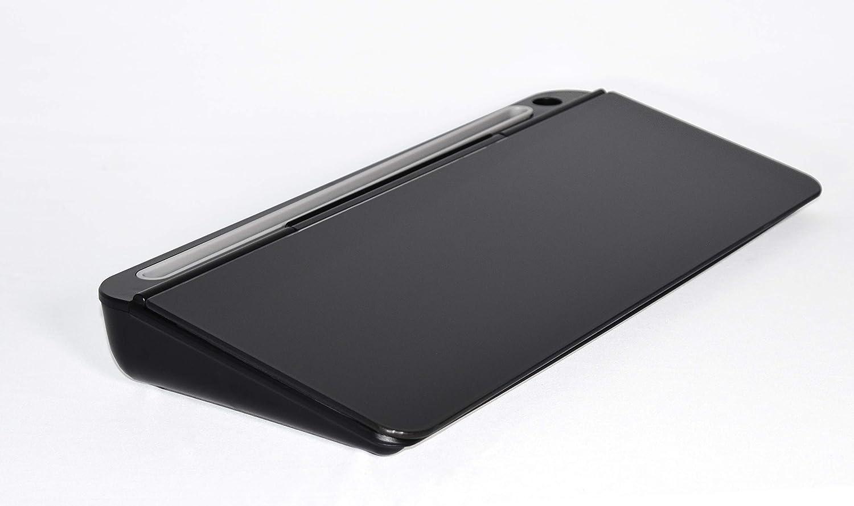 Audio-Visual Direct Glass Desktop Computer Notepad Set, Black Dry Erase