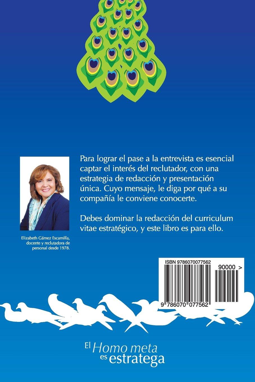 Curriculum Vitae Estrategico: Redaccion Para Lograr El Pase a la ...