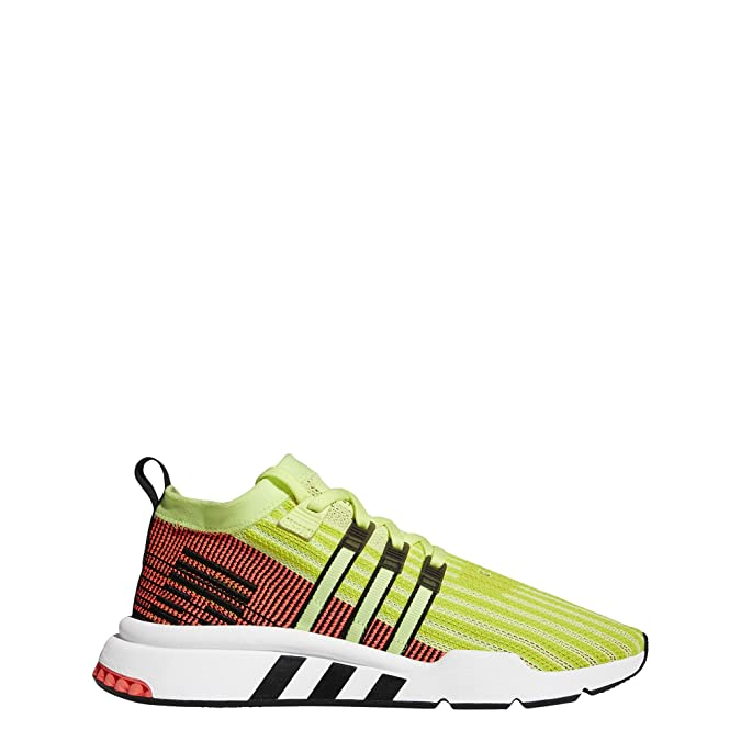 online store 6fc6c 040fa Adidas EQT Support Mid ADV Primeknit Glow Black Turbo  Amazon.fr   Chaussures et Sacs