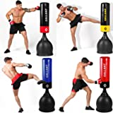 Gallant 5.5ft Free Standing Boxing Punch Bag Stand Heavy Duty Martial Ats MMA Free Delivery Black, Yellow, Red, Blue Colour Punch Bag