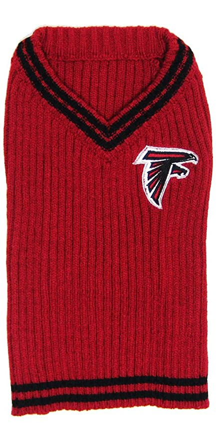 9060f1429 Amazon.com   NFL Atlanta Falcons Pet Sweater