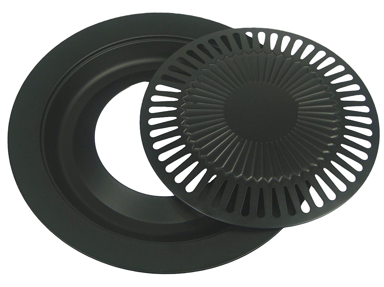grillaufsatz grillplatte f r gaskocher campingkocher kleinster mobiler gasgrill. Black Bedroom Furniture Sets. Home Design Ideas