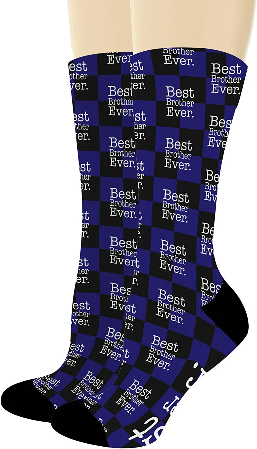 No1 Brother  Novelty Gift Socks For Brother Socks Gift X67858