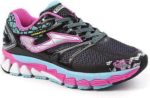 JOMA Titanium Lady, Zapatillas de Running para Mujer, Negro (Black-Turquoise), 39 EU: Amazon.es: Zapatos y complementos