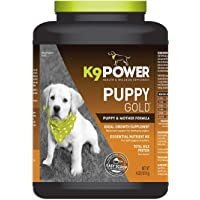 K9-Power Puppy Gold - Nutritional Supplement for Growing Puppies - 4 Pound