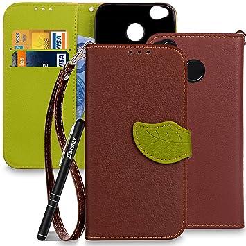 H/ülle f/ür Xiaomi Mi 8 Lite Handyh/ülle Case Blume Schmetterling Schutzh/ülle PU Leder Wallet Magnet Flipcase Ledercase Bookstyle Tasche St/änder Handytasche Handycase Blau