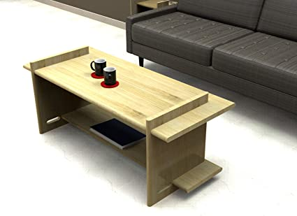Brook Coffee Table By Parts In A Box (Big, Natural)