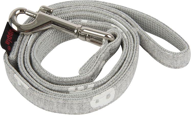 Puppia PARA-AL1529-NY-L Navy Dotty Lead II Pet-Leashes Large